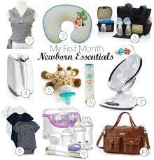 newborn essentials my month newborn essentials inspiration for