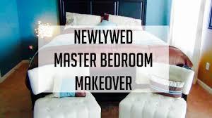 newlyweds master bedroom makeover youtube