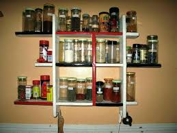 Wall Mount Spice Cabinet With Doors Door Mount Spice Rack Spice Rack For Door Hanging With Doors
