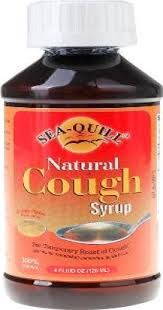 seaquill natural cough syrup 120 ml