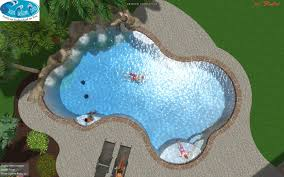 Deep Backyard Pool by Diving Pool 9 U0027 Deep With Tanning Ledge Grotto Or Cave Weeping