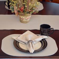 Oval Vinyl Tablecloth Oval Placemats Tan Dot Vinyl Oval Wipeable Round Table Placemat
