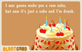 Blunt Card Birthday Friday S Survival Sarcasm Birthday Style Birthday Funnies Rum