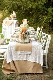 Used Burlap And Lace Wedding Decorations Burlap And Lace Wedding