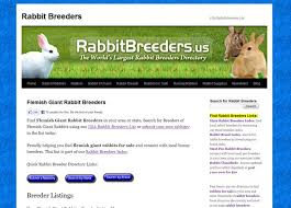 Kims Rabbit Hutch Find Flemish Giant Rabbit Breeders In Your Area Locate Breeders