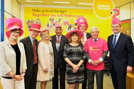 pioneering milton keynes charity welcomes dignitaries to head