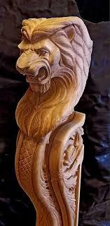 corbel corbels brackets lions wood