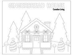 beautiful gingerbread house coloring hand embroidery ideas