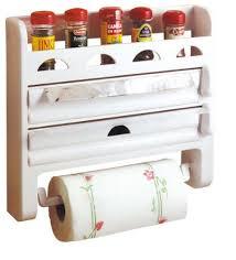 porte rouleaux de cuisine toyma réf 555 porte rouleaux de cuisine avec étagère à épices