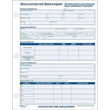 employee application form employment employment application form