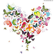 shaped butterfly vector material free web