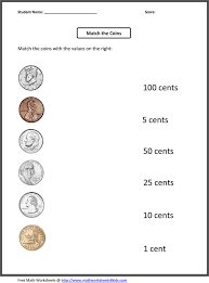 free worksheets place value in money worksheets free math
