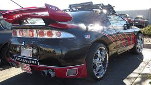 mitsubishi eclipse jdm customized mitsubishi eclipse equally at home at ski slopes or