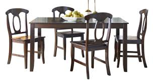 Standard Furniture Dining Room Sets Standard Furniture Larkin Leg Dining Table And 4 Chairs Set In