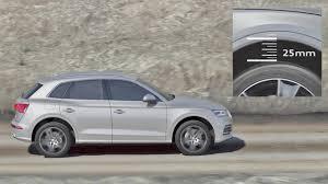 Is Air Ride Suspension Comfortable Audi Q5 2017 Adaptive Air Suspension Youcar Youtube