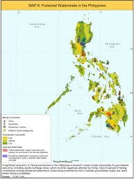 Philippines Map World by Protected Watersheds In Philippines Map Philippines U2022 Mappery