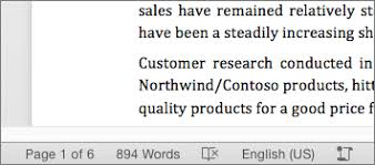 How To Count Number Of Words In Word Document The Word Count And More In Word For Mac Word For Mac