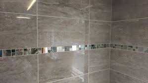 15 30m2 or sample parallel travertine effect grey ceramic wall