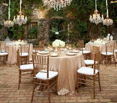 wedding linen custom size sparkly sequin table cloth garden wedding party