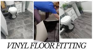 is vinyl flooring for a bathroom budget bathroom flooring diy vinyl floor fitting silicone caulking meltdown