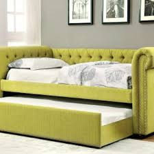 lemongrass upholstered daybed w trundle caravana furniture