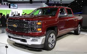 Red Lifted Chevy Silverado Truck - 2014 chevrolet silverado and gmc sierra first look motor trend