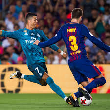 cristiano ronaldo sent off real madrid top barcelona in super cup