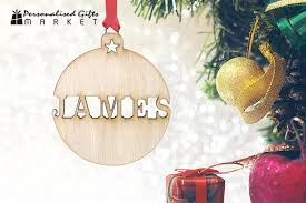 scoopon personalised wooden ornaments delivered