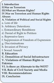 essays on terrorism War On Terrorism Is Contributing Towards Growing Abuse Of Human     essay of the