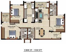 3 Bhk Apartment Floor Plan by Salarpuria Sattva East Crest Floor Plans For 1 2 3 Bhk