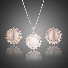 bridesmaid jewellery bridesmaid jewellery set bridal jewellery white opal jewellery set