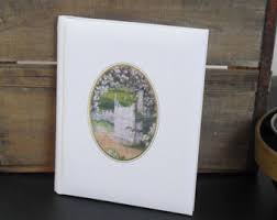 guest books for memorial service vintage guest book etsy