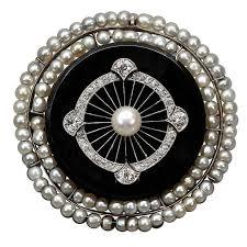 1425 best art deco black onyx and diamond jewels images on