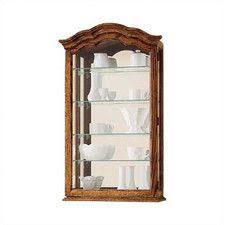 wayfair corner curio cabinet found it at wayfair vancouver wall curio cabinet for the home