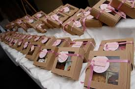 cookie box favors boxed cookie cards wedding dish