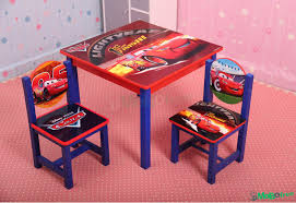 Kids Wooden Table And Chairs Set Disney Cars Kids Wooden Table And 2 Chairs Babies And Kids