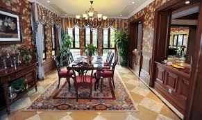 sala da pranzo classica sala da pranzo classica in una villa immagine stock immagine di