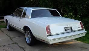84 Monte Carlo Ss Interior Buy Used 84 Monte Carlo White Silver 2 Tone In Elkridge Maryland