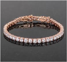 bracelet tennis zirconia images Juliette round cz rose gold tennis bracelet 7 25in to 8in 10ct jpg