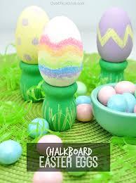 egg decorations easy chalkboard easter eggs