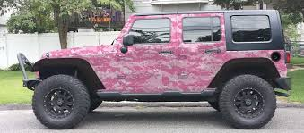 jeep wrangler pink pink digital camo camouflage jeep wrangler wrap kit check out our