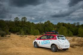 nissan leaf lease 2017 modified nissan leaf enters treacherous 10 000 mile mongol rally