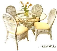 rattan dining room chairs ebay white wicker dining table and chairs rattan dining table and chairs