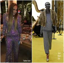 Fashion Sizzlers Archives Fashionsizzle by Jennifer Lopez In Gucci Her Taco Party Event Fashionsizzle