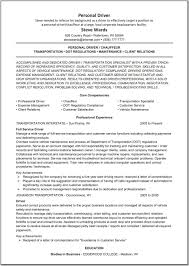 Resume Samples For Truck Drivers With An Objective by Delivery Driver Resume Samples Eager World Cv Sample Van Driver