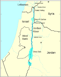 Rivers Of Africa Map by Baptized In The Jordan Restoring A Holy River Origins Current