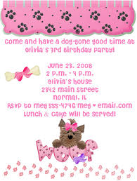 puppy birthday invitations plumegiant com