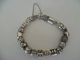 halloween pandora charms pandora bracelet two tone things i own and love pinterest