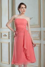 sell bridesmaid dress amazing draped a line strapless tea length sell nadya s