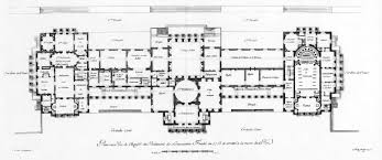 chateau floor plans louis xv and madame dubarry